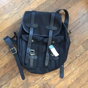 Filson Bags - New with tags Filson black rucksack